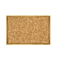 Corkboard with Wooden Frame