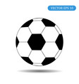 soccer ball icon eps 10 vector image