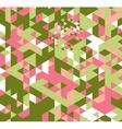 Triangle retro background vector image vector image