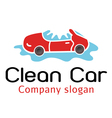 Clean Car Design vector image vector image