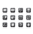 Different kind of arts icons