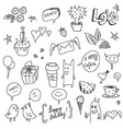 Hand Drawn vector image vector image