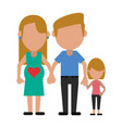 happy family united vector image vector image