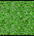 the banner green sequins mosaic sequins glitter vector image
