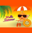background summer design concept vector image