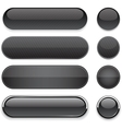 Black high-detailed modern web buttons vector | Price: 1 Credit (USD $1)