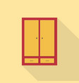cupboard icon set of great flat icons use for vector image vector image