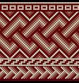 greek mosaics seam vector image vector image