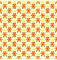 orange flower tribal with white back ground
