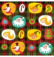 Christmas tartan plaid pattern background vector image vector image