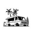 food truck vector image vector image