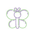 funny inflatable shaped balloons butterfly animal vector image vector image