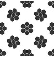 honeycomb sign icon seamless pattern vector image