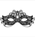 Masquerade mask design vector image vector image