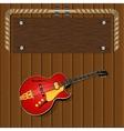 musical frame vector image