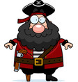 pirate smiling vector image