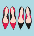 shoes decorative for design vector image