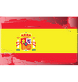 spanish national flag vector image