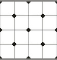tile black and white background or tiles pattern vector image
