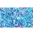 winter mosaic vector image vector image