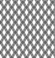 Abstract Black Line Pattern on White Background vector image vector image