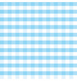 blue and white plaid background oktoberfest vector image