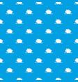 broken piggy bank pattern seamless blue vector image vector image