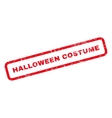 Halloween Costume Text Rubber Stamp vector image vector image