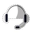 headphone service repair icon vector image vector image