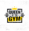 inspiring woman female workout and fitness gym vector image vector image