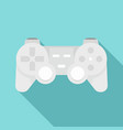 toy gamepad icon flat style vector image vector image