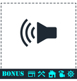 Volume icon flat vector image