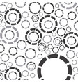 gray bubbles background icon vector image