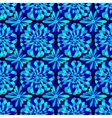 abstract seamless blue pattern vector image vector image