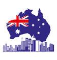 australia landmark architecture vector image vector image