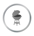 Barbecue icon in cartoon style isolated on white vector image vector image