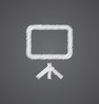 board sketch logo doodle icon vector image