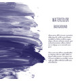 dark navy blue watercolor vector image vector image