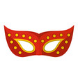 face mask icon flat style vector image vector image