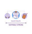ganesh chaturthi concept icon vector image