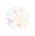 hand spinners icon vector image vector image