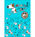 Mischief maker puppy dog woof vector image vector image
