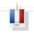 photo of france flag vector image