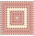 Pink colored handkerchief vector image vector image