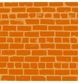 Simple background of old brickwork design vector image