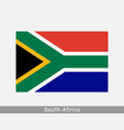 south africa african national country flag banner