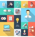 Support Icons Flat vector image