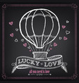 vintage valentines day or wedding vector image