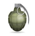 military grenade vector image