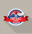 2018 football champions badge vector image